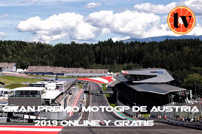 Ver gran premio de MotoGP Austria 2019 Gratis