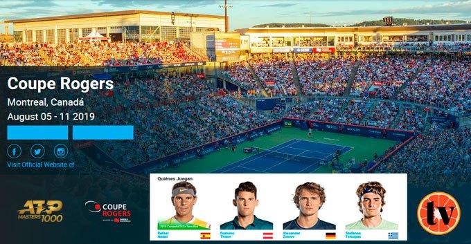 Tenis en Directo Open de Montreal 2019