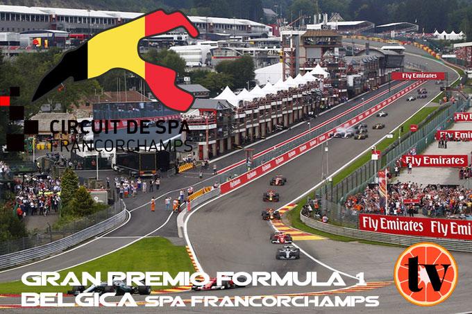 Ver GP de Bélgica Formula 1  2019 Gratis