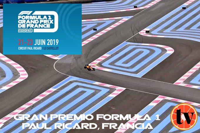 Ver GP de Francia Formula 1  2019 Gratis