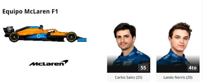2020 McLaren Formula 1 Online Gratias