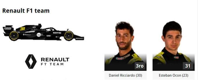 2020-Renault Formula 1 Online Gratias