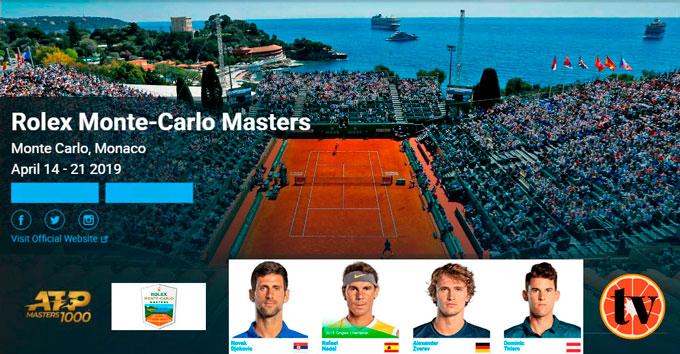 Ver Open de Tenis de Monte Carlo 2019 Gratis