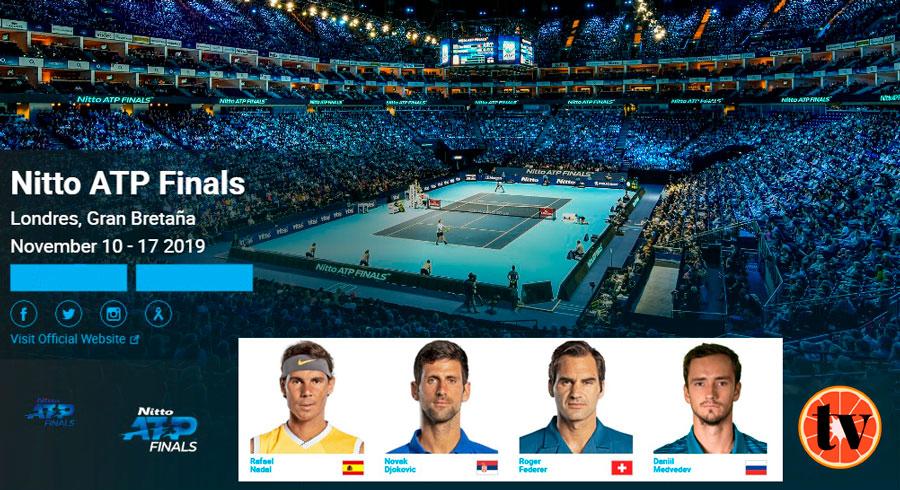 Tenis en Directo Copa Maestros de Londres 2019