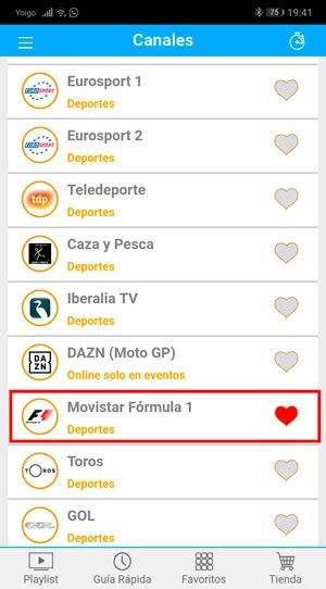 Ver F1 gratis con Movistar
