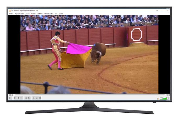 Ver Toros Gratis en Canal Toros en VLC