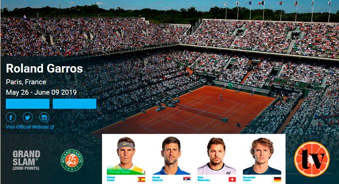 Ver Roland Garros Gratis online