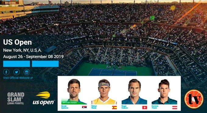 USOpen Tennis ver Tenis en directo gratis online