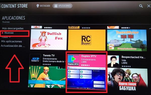 aplicaciones smart tv lg nuevas