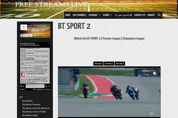 Ver campeonato MotoGP online gratis