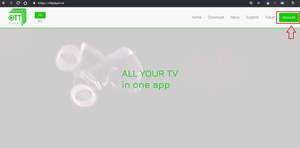 instalacion ottplayer smart tv