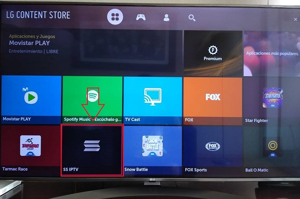 instalar ssiptv en smart tv - lg