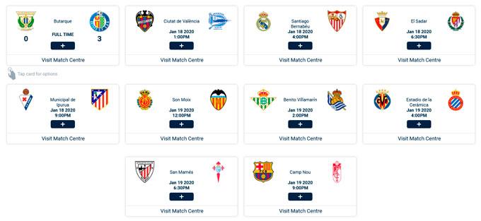 la-liga Ver futbol gratis