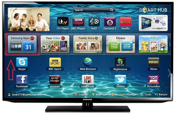 samsung apps - smart iptv